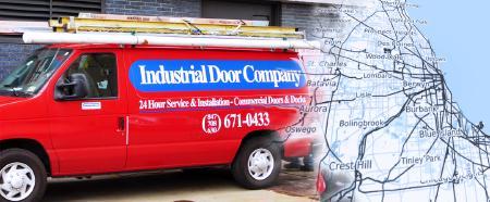 industrial door company van