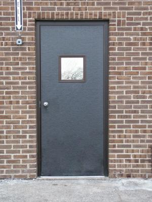Heavy Duty Outdoor Man Door